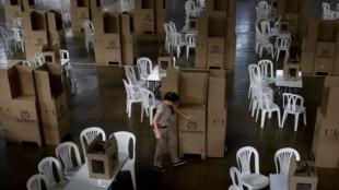 Elecciones en Colombia. Foto: Luis Robayo / AFP