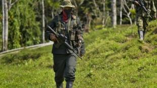 Guerrillero del ELN. Foto: Raúl Robayo/AFP