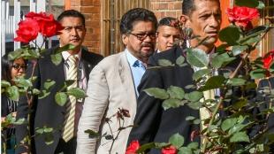 Foto: Iván Márquez, líder politico del Partido Farc/ AFP