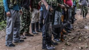 Guerrilleros de las Farc. Foto: AFP