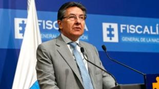 Néstor Humberto Martínez, fiscal General de Colombia. Foto: Oficial
