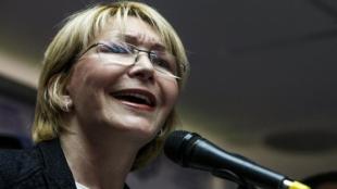 Fiscal general de Venezuela, Luisa Ortega. Foto: EFE