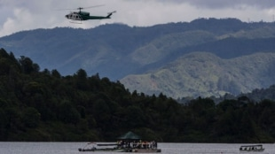 """""""El Almirante"""" durante la emergencia. Foto: AFP"""