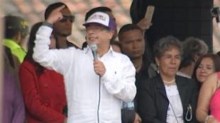 FOTO: Gustavo Petro en la Plaza de Soacha/ NoticiasRCN.com