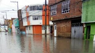 Foto: Fuertes lluvias en Tunjuelito/ NoticiasRCN.com