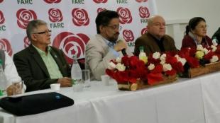 Los jefes de las Farc. Foto: @FARC_EPueblo