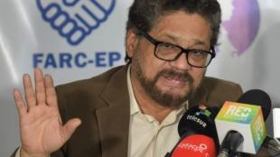 'Iván Márquez', uno de los jefes de las Farc. Foto: Raúl Arboleda/AFP