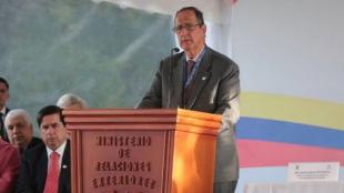 Juan Camilo Restrepo, jefe del equipo negociador del Gobierno en los diálogos de paz con el ELN.