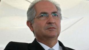 Antonio Ledezma. Foto: AFP