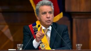 El nuevo presidente de Ecuador, Lenín Moreno. Foto: AFP