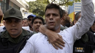 Leopoldo López, líder opositor venezolano. Foto: archivo AFP