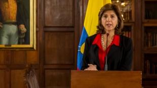 María Ángela Holguín, canciller colombiana. Foto: Oficial.