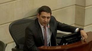 Mauricio Lizcano, presidente del Congreso de la República. Foto: NoticiasRCN.com