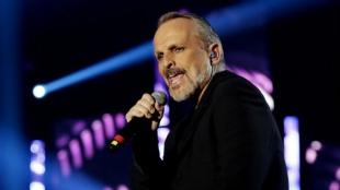 Miguel Bosé, cantante español. Foto: EFE