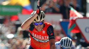 Vincenzo Nibali, ciclista italiano. Foto: EFE/Javier Lizón
