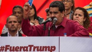 Nicolás Maduro, presidente de Venezuela. Foto: EFE/Nathalie Sayago