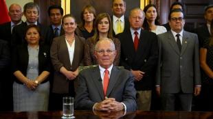 Pedro Pablo Kuzcynski presentó al Congreso su carta de renuncia como Presidente del Perú/ EFE
