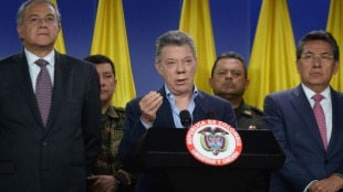 Juan Manuel Santos, presidente de Colombia. Foto: Sistema Informativo de Gobierno.