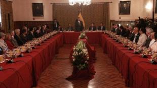 El presidente de Ecuador, Rafael Correa. Foto: Oficial