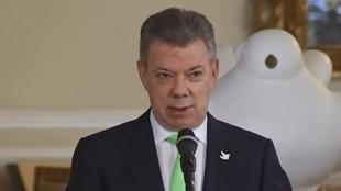 Juan Manuel Santos, presidente de Colombia. Foto: NoticiasRCN.com