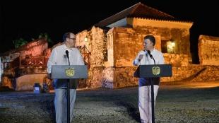 FOTO: Santos y príncipe de Mónaco en Cartagena/ Presidencia de la República