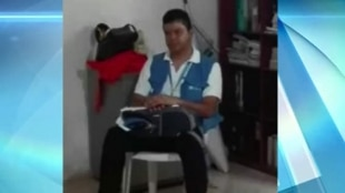 Harley López, funcionario de la ONU secuestrado. Foto: NoticiasRCN.com