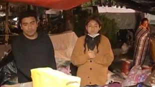 Los mexicanos ilesos se solidarizan con las víctimas y rescatistas. Foto:Captura vídeo NoticiasRCN