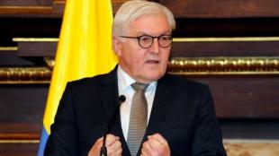 El ministro de Asuntos Exteriores de Alemania, Frank Walter Steinmeier. Foto: AFP