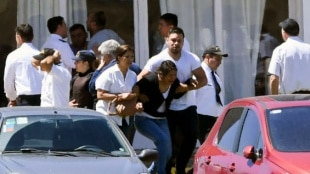 Familiares de los desaparecidos. Foto: AFP