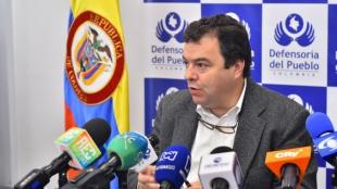 Carlos Alfonso Negret Mosquera, Defensor del Pueblo. Foto:Defensoría del Pueblo.