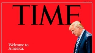 Nueva portada de la revista Time. Foto: @Time