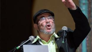 Rodrigo Londoño, presidente del partido Farc. Foto:AFP