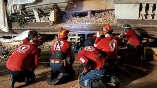 Hay 4 equipos Topos que ayudan en distintas clases de catástrofes. Foto: topos