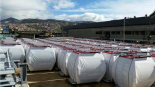 De acuerdo con el Instituto de Desarrollo Urbano (IDU), el contrato obligaba a entregar 160 cabinas, pero el contratista entregó 163. Foto: Alcaldía de Bogotá