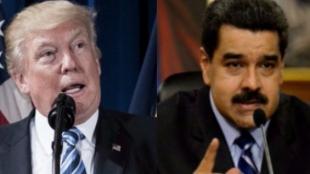 Donal Trump, presidente de EE.UU. -  Nicolás Maduro, presidente de EE.UU. Fotos: AFP