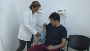 El actor se recupera en una clínica en Barranquilla.