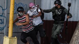 Presidente de Ecuador rechaza la intervención de EE.UU. Foto: Juan Barreto/AFP