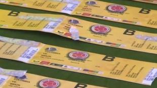 Boletas para ver jugar a la Selección Colombia.