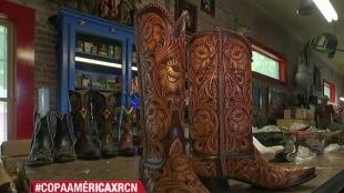 La botas texanas, toda una obra de arte hecha a mano