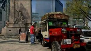 El café colombiano se toma en Central Park, New York