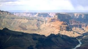 Así disfrutan los aventureros que visitan El Gran Cañón del Colorado