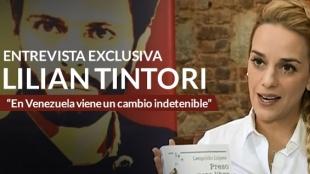 Entrevista exclusiva con Lilian Tintori