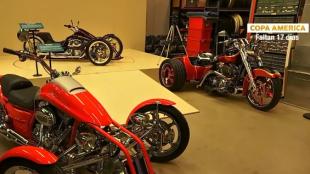 Las imponentes motos del Museo Harley-Davidson en Milwaukee