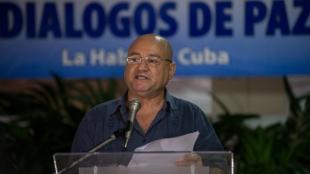 El anuncio lo hizo alias Carlos Antonio Lozada, vocero del equipo negociador de las Farc. AFP
