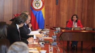 El encuentro fue convocado por la presidenta de la Corte Suprema de Justicia.Foto:NoticiasRCN.com