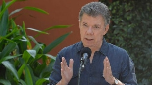 Juan Manuel Santos, presidente de Colombia. Foto: SIG.