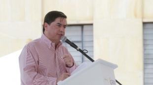 Juan Fernando Cristo, ministro del Interior. Foto: oficial.