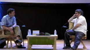 Conversatorio enero 31: El escritor Peter Stam con Peter Florence, fundador del Hay Festival