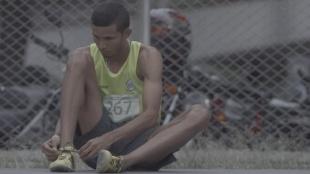 Rafith Rodríguez, con el tricolor de los 800 metros