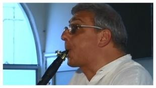 Gabriele Mirabassi, clarinetista italiano, un visitante frecuente al Cartagena Festival de Música